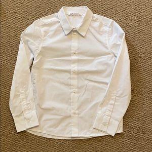 H&M white dress shirt, boys
